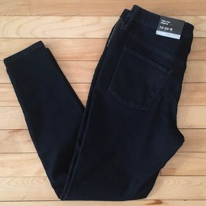 Mossimo High Rise Jegging Dark Blue Sz 10/30